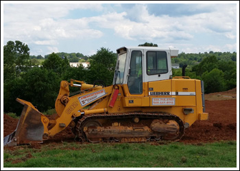 Jenkins Excavating & Logging small bulldozer