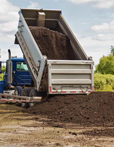 Material Hauling & Delivery: dump truck