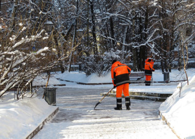 Snow Removal: snow clearing